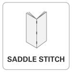 bindery, wholesale printer, Saddle Stitch, books, printing, print finishing options