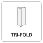 bindery, wholesale printer, Tri-Fold, folding options, printing, print finishing options