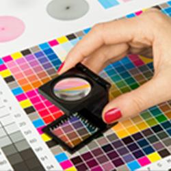 print color option board, prepress